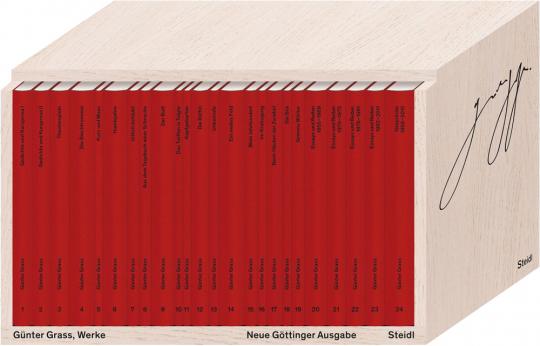 Günter Grass. Werke, Göttinger Ausgabe in 24 Bänden.