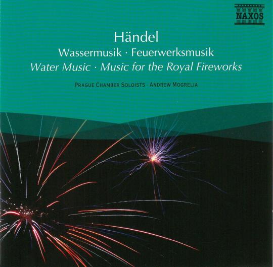 Händel. Wassermusik & Feuerwerksmusik. CD.