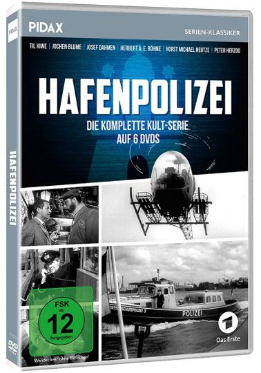 Hafenpolizei (Komplette Serie). 6 DVDs.