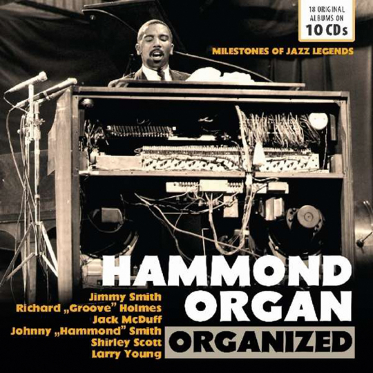 Hammond Organ Organized (Milestones Of Jazz Legends). 10 CDs.