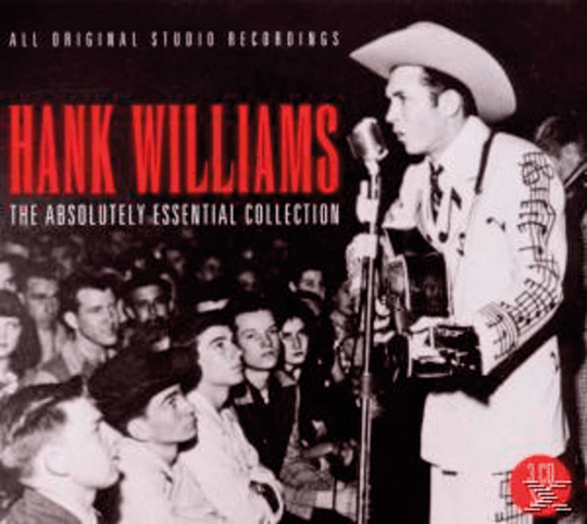 Hank Williams. The Absolutely Essential Collection. 3 CDs.