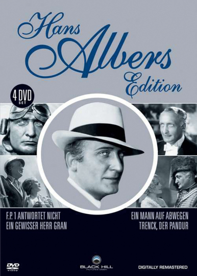 Hans Albers Edition. 4 DVDs.