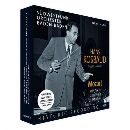 Hans Rosbaud. dirigiert Mozart. 9 CDs.