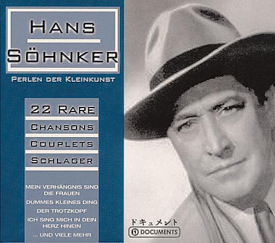 Hans Söhnker - Perlen der Kleinkunst. CD.