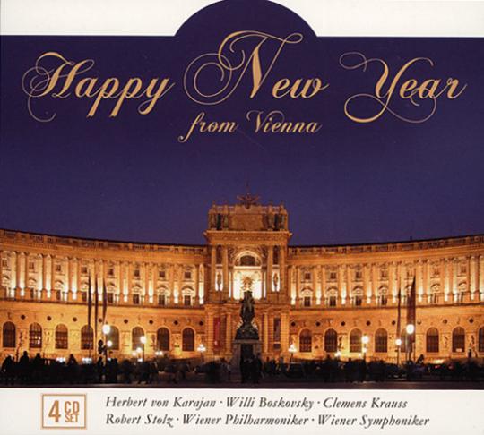Happy New Year. Herbert von Karajan, Wiener Symphoniker.