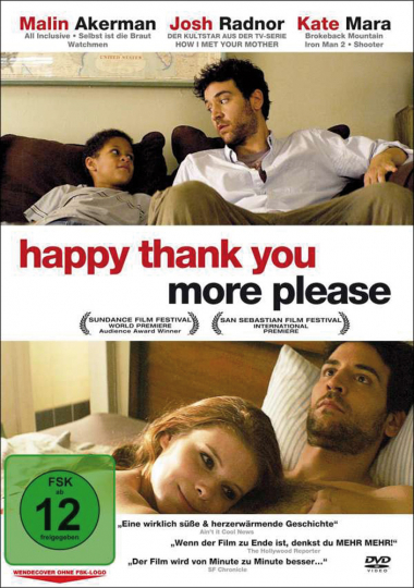 Happy thank you more please. DVD.