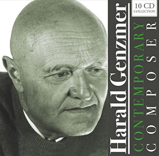 Harald Genzmer. Original Recordings. 10 CDs.