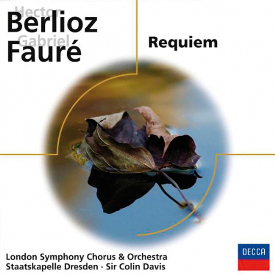 Hector Berlioz & Gabriel Fauré. Requiem. 2 CDs.