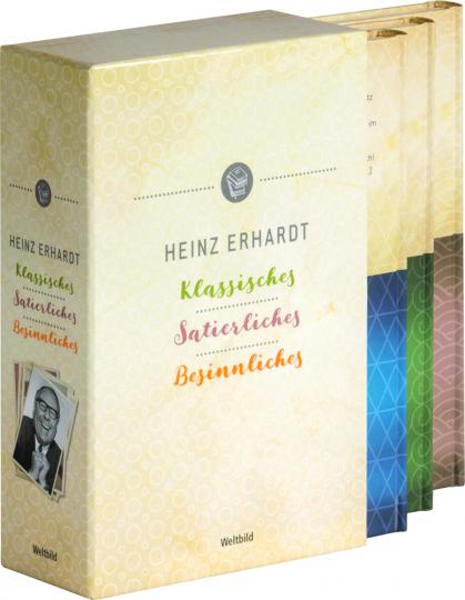 Heinz Erhardt. Klassisches, Satierliches, Besinnliches. 3 Bde.