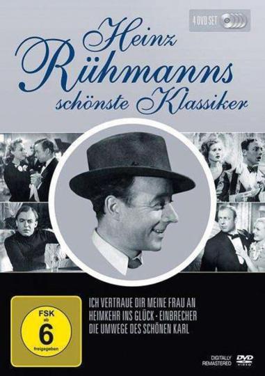 Heinz Rühmanns schönste Klassiker. 4 DVDs.