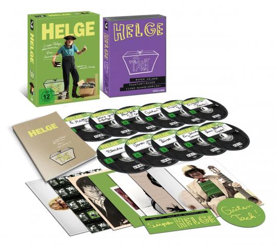 Helge Schneider - The Paket (Limitiertes Box-Set). 11 DVDs,