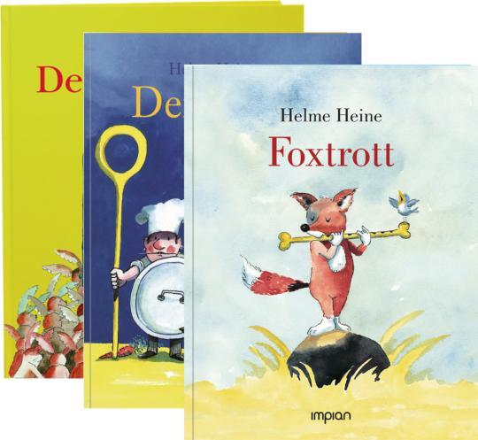 Helme Heine. Foxtrott, Der Superhase, Der Club. Paket mit 3 Bänden.
