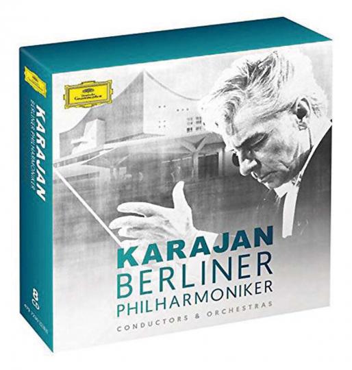 Herbert von Karajan und die Berliner Philharmoniker. 8 CDs.