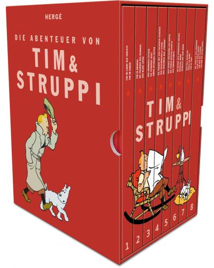 Hergé. Die Abenteuer von Tim und Struppi. Kompaktschuber.