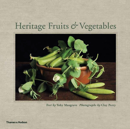 Heritage Fruits and Vegetables. Vergessene Kostbarkeiten der Natur. Obst und Gemüse.