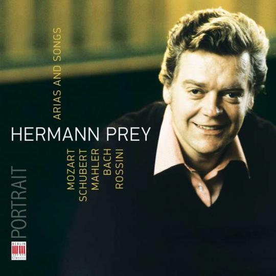 Hermann Prey. Arien und Lieder. CD.