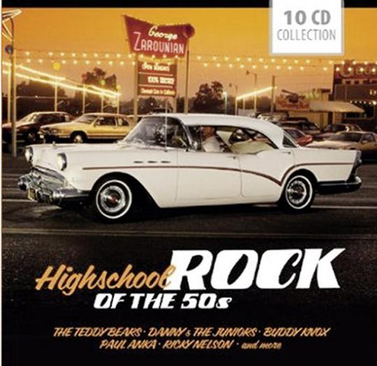 Highschool Rock of the 50s. 10 CDs.
