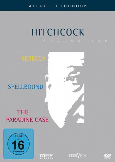 Hitchcock. Rebecca / Ich kämpfe um dich / Der Fall Paradin. 3 DVDs.
