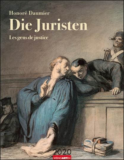 Honoré Daumier. Die Juristen. Kalender 2020.
