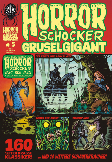 Horrorschocker Grusel Gigant #5. Alle Geschichten aus Horrorschocker 21 bis 25 nachgedruckt. Comic.
