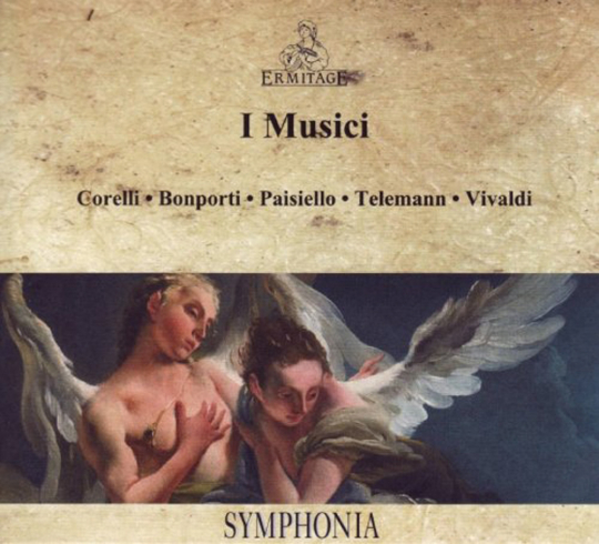 I Musici. Vivaldi/Telemann/Corelli u.a. CD.