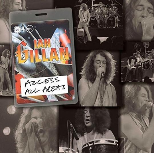 Ian Gillan. Access All Areas. CD + DVD.