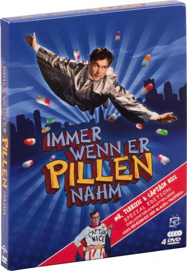 Immer wenn er Pillen nahm (Special Edition inkl. Das Geheimnis der blauen Tropfen) 4 DVDs