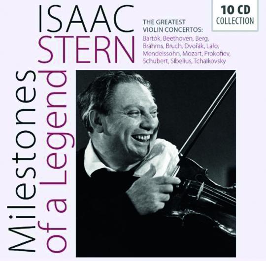 Isaac Stern. Milstones of a Legend. 10 CDs.