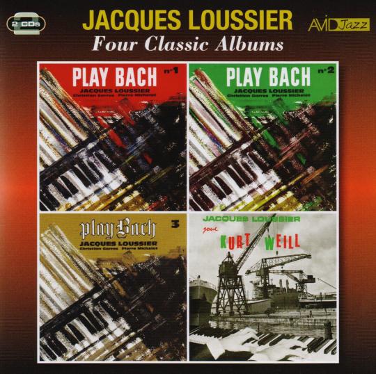 Jacques Loussier. Four Classic Albums. 2 CDs.