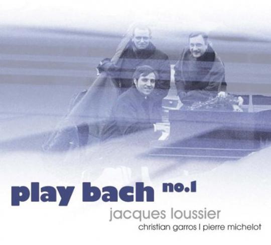 Jacques Loussier. Play Bach Vol. 1. CD.