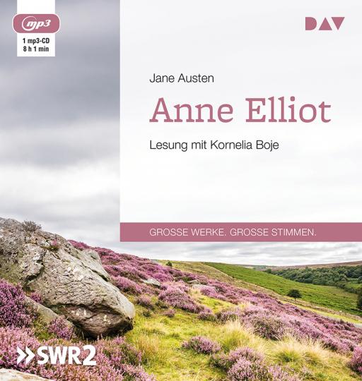 Jane Austen. Anne Elliot oder Die Kunst der Überredung. mp3-CD.
