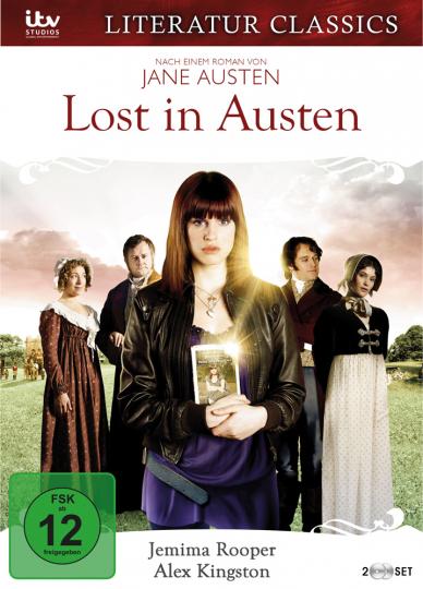 Jane Austen. Lost in Austen. Filmreihe Literaturklassiker. 2 DVDs.