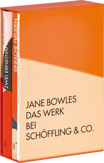 Jane Bowles. Gesammelte Werke. 3 Bände im Schuber.