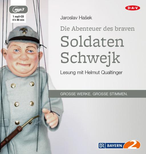 Jaroslav Hasek. Die Abenteuer des braven Soldaten Schwejk. mp3-CD.