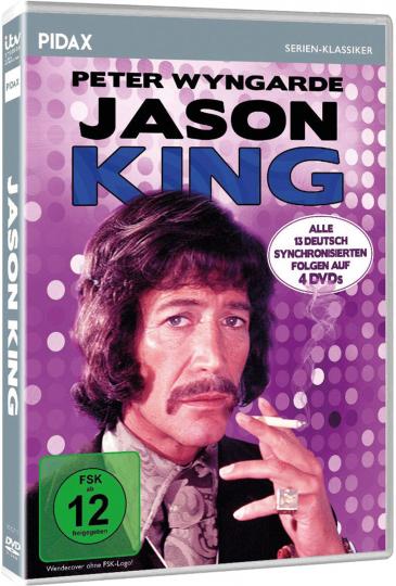 Jason King (TV-Serie). 4 DVDs.