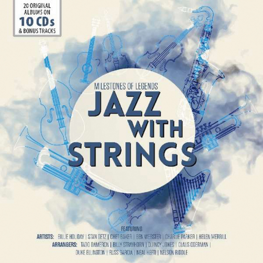 Jazz With Strings. 10 CDs.