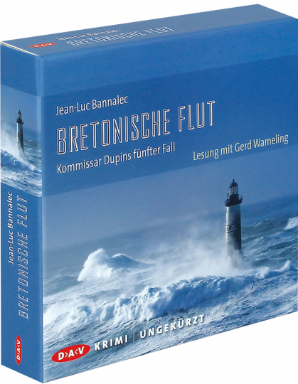 Jean-Luc Bannalec. Bretonische Flut. Kommissar Dupins fünfter Fall. 10 CDs.
