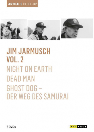 Jim Jarmusch Vol. 2. Night on Earth, Dead Man, Ghost Dog - Der Weg des Samurai. 3 DVDs.