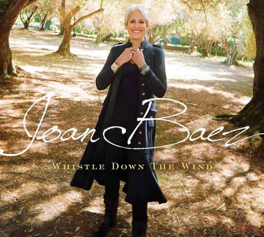 Joan Baez. Whistle Down The Wind. CD.