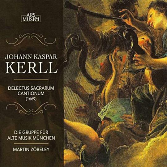 Johann Caspar Kerll. Delectus Sacrarum Cantionum. CD.
