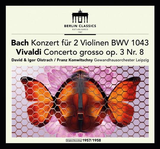Johann Sebastian Bach. Antonio Vivaldi. Violinkonzerte. Vinyl LP.