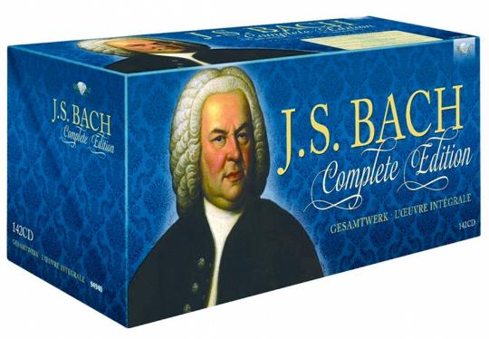 Johann Sebastian Bach. Das Gesamtwerk. 142 CDs.