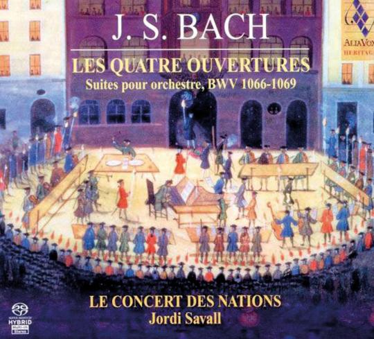 Johann Sebastian Bach. Orchestersuiten Nr.1-4 (BWV 1066-1069). 2 Hybrid-SACDs.