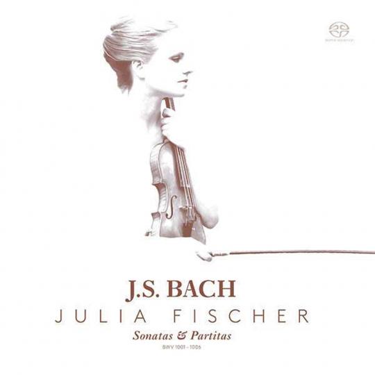Johann Sebastian Bach. Sonaten & Partiten für Violine BWV 1001-1006. 2 SACDs.