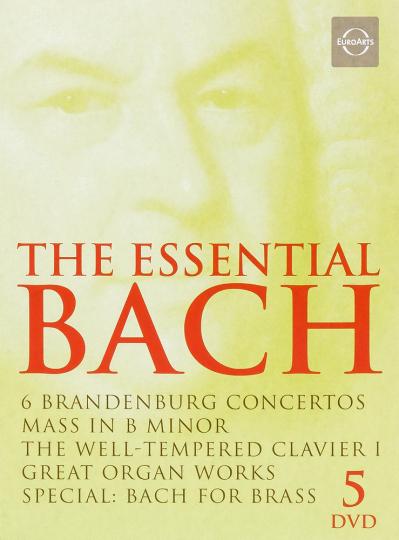 Johann Sebastian Bach. The Essential Bach. 5 DVDs.