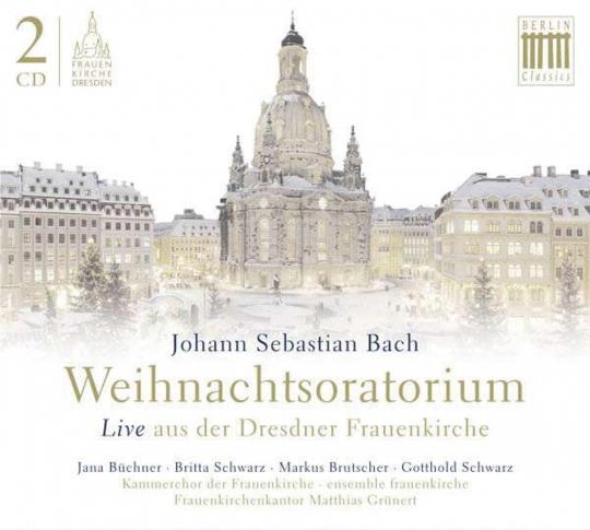 Johann Sebastian Bach. Weihnachtsoratorium BWV 248. 2 CDs.