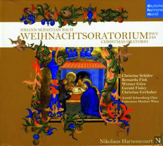 Johann Sebastian Bach. Weihnachtsoratorium BWV 248. 2 CDs