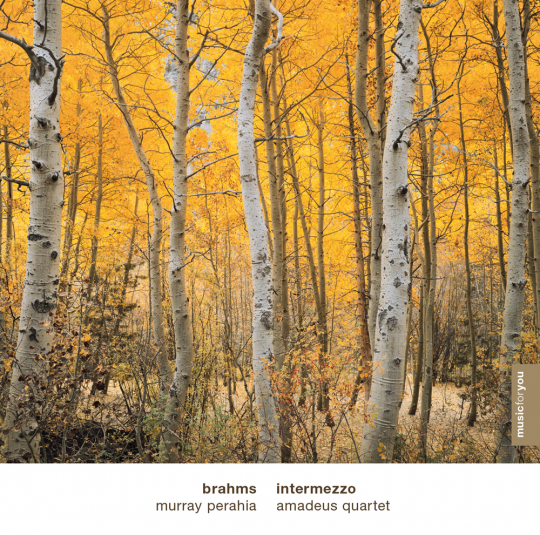 Johannes Brahms. Intermezzo. CD.