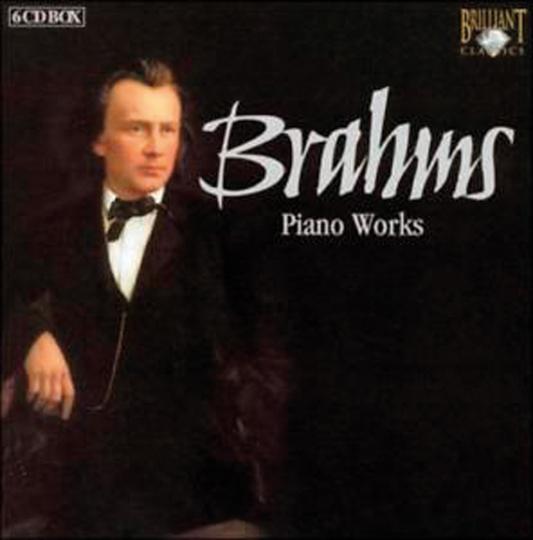 Johannes Brahms. Sämtliche Klavierwerke. 6 CDs.