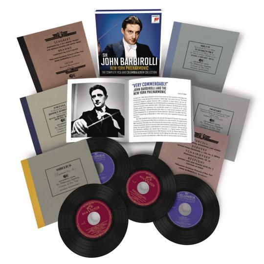John Barbirolli & New York Philharmonic. The Complete RCA and Columbia Album Collection. 6 CDs.